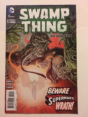 Swamp Thing #20 Charles Soule and Kano DC new 52