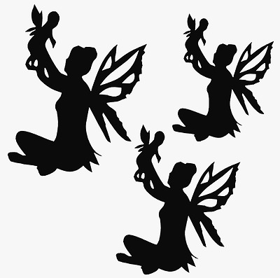 7-12 pcs MOM BABY FAIRY Die cut Embellishment Cards Paper Crafts Jar Lanterns