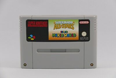 Super Mario Allstars + Super Mario World pour Super Nintendo / Snes ( 5 Stars)