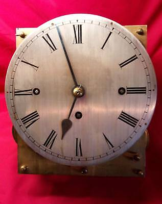 Antique  English Three Train Fusee Mahogany Bracket Clock Restoration Project