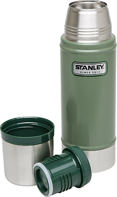 Stanley by Black & Decker Classic Thermoflasche Grün 470ml 10-01228-023