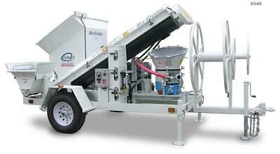 AirPlaco Mix-Elvator 30 HP Gunite Batch Plant, High Production 634D
