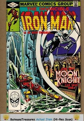 Invincible Iron Man #161 (9.0-9.2) NM- Moon Knight Appearance 1982 Bronze Age