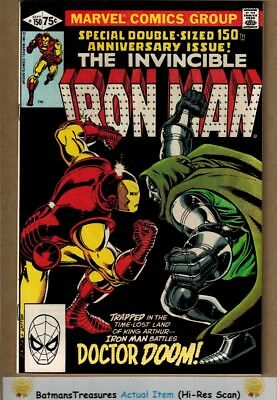 Invincible Iron Man #150 (9.4) NM Doctor Doom Appearance 1981 Bronze Age