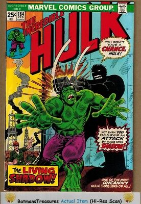 Incredible Hulk #184 (9.2) NM- Herb Trimpe Cover 1975 Bronze Age Key Issue