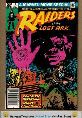Raiders of the Lost Ark #1 (9.4-9.6) NM+ 1981 Marvel Bronze Age Key Issue