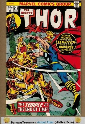 The Mighty Thor #245 (9.0) VF/NM 1976 Bronze Age Key Issue