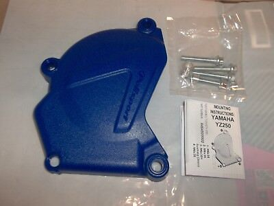 Yamaha Left Side Ignition Cover Guard Protector YZ Blue YZ250 250 X 1999 - 2018