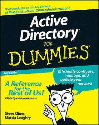 Active Directory for Dummies  2nd Edition  Read on PC/Phone/Tablet