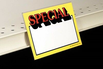 Sign Holders-Slim-Line-Sign Protectors-5pcs-2.5x5.5-Free Shipping-Retail Display