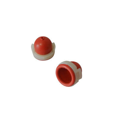 2 Pcs Red Primer Bulb Pump Cup (with hole) For Briggs/Stratton 694394 494408