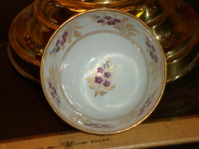 Small 18th C Chinese Export Tea Cup with Floral Decoration