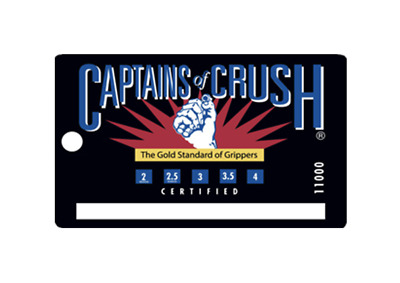 IronMind | Captains of Crush ID Card Certified Grippers | BEST VALUE