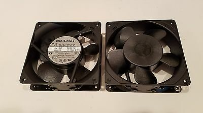 2 pieces 120mm NMB 4715MS-12T-B30 115 VAC Cooling Fan - New