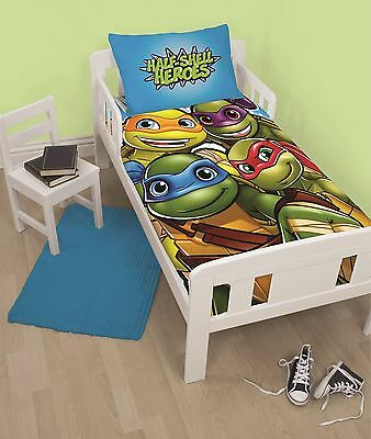 Teenage Mutant Ninja Turtles  Cot Toddler Doona Duvet Quilt Cover  Tmnt Genuine