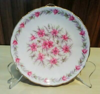 Tuscan Love In The Mist Pink Side Plate Bone China England
