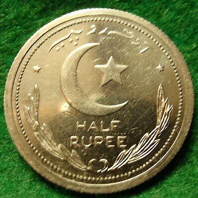 Scarce 1948 HALF RUPEE PAKISTAN, PROOF  Very rare coin