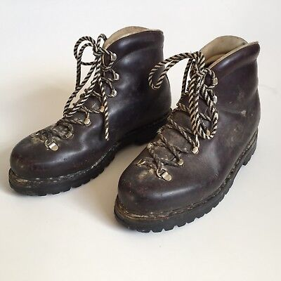 30c6efba9e2 Vintage MUNARI Italy for REI Hiking Boots Leather Women's 8.5, Men's 7.5