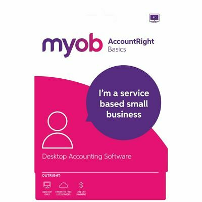 MYOB AccountRight Basics 1 PC Card