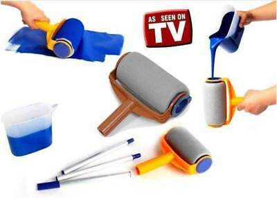 Decorative Paint Runner Pro Painting Rollers Wall Painter Brush -As Seen On TV