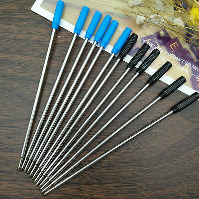 5/10/15/20Pcs Black Blue 0.5mm Cross Style Ballpoint Piont Pen ink Refill EU