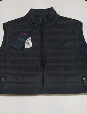 Armani Jeans Spring Goose Down Vest  Dark Grey New with Tags