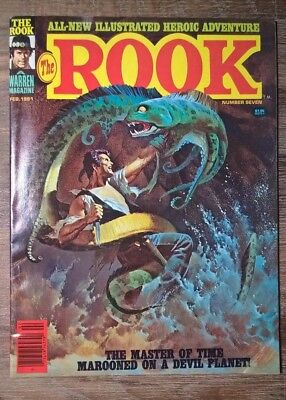 The Rook # 7 (1981) - Warren Magazine - Nice copy!