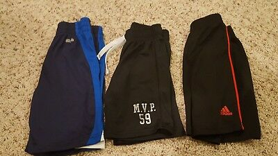 Lot of 3 Boys Summer Pull On Shorts Size 4 (XS)