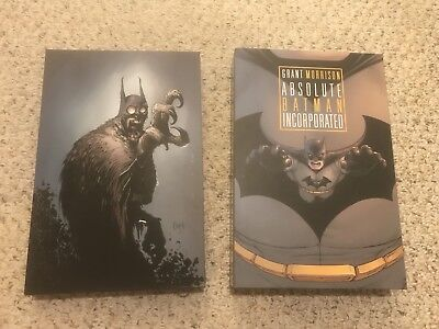 DC Absolute Batman Incorporated & Court of Owls Hardcovers HC