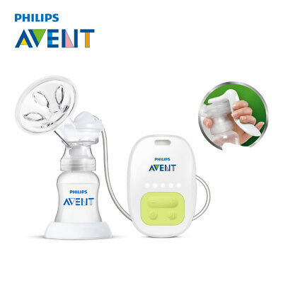 AVENT BPA Free Electric Manual Breast Massage Feeding Baby Sucking Squeeze Pump