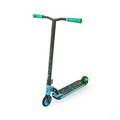 Madd Gear Mgp Vx8 Pro Complete Kids Scooter  Blue/lime Fade - Free Shipping