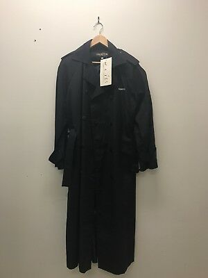 Ladies Airline uniform, Vintage Kendall trench coat, dark navy, new with tags
