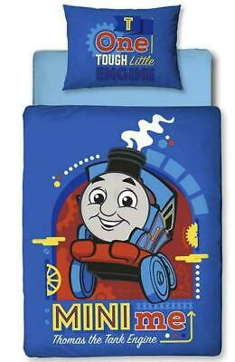 "THOMAS  THE TANK ENGINE ""Mini Me ""   Cot Toddler Doona Duvet Quilt Cover Set."