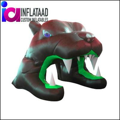 Black Inflatable Tiger