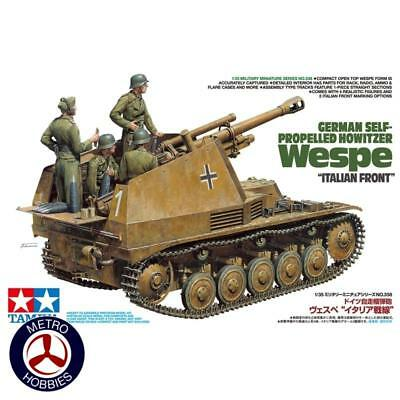 Tamiya 1/35 German Self-Propelled Howitzer Wespe Italian Front 35358 Brand New