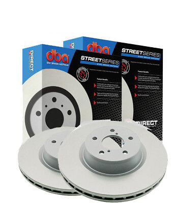 DBA PAIR Standard Rear Rotors Lexus GS/GX/IS300 +SC Series 93-> 307mm DBA749 x2