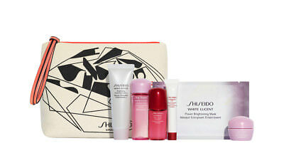 Brand New! Shiseido 7-PC White Lucent Spring 2018 Travel Gift Set, $91 Value