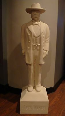 Jack Daniel 6 ft 5 in Life Size Display Statue USED in ORIGINAL BOX Jack Daniels
