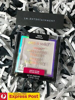 WET n WILD BEAUTY GOTH-O-GRAPHIC COLLECTION WHITE RAVEN MEGAGLO HIGHLIGHTER