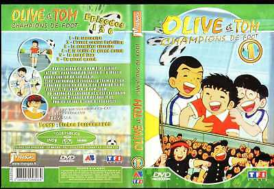 DVD Olive et Tom - Vol.1 : Episodes 1 à 6 | Manga | Lemaus