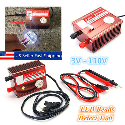 3V-110V LED Strips TV Monitor Laptop Backlight Lamp Tester LED Beads Detect Tool