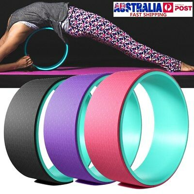 Yoga Wheel Muscle Relaxing & Fitness-Extra Strength Health Comfortable Gym Prop