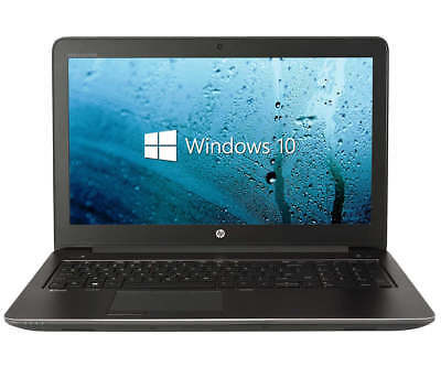 HP ZBook 15 Mobile Workstation i7-4800MQ 2.70 GHz 8 GB RAM 180 GB SSD W7 15.6""