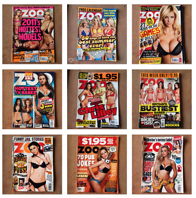 x 9 Zoo Magazines (various editions)