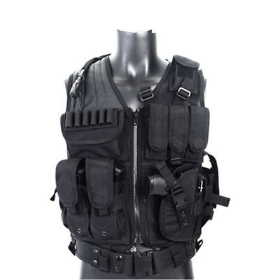 Tactical Military Vest With Numerous Pockets for Wargame CS Field Battle Airsoft
