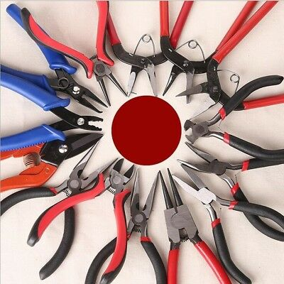 Beading Pliers Equipment Flat Needle Nose Pliers For Jewelry Diy Making Tools