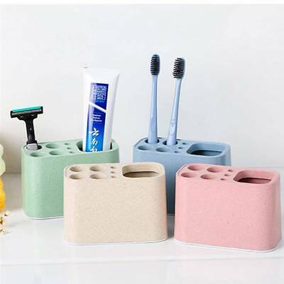 Wheat Stalk Creative Toothbrush Toothpaste Holder Bathroom Organizer Products