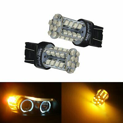 PAIR 7443 580 T20 43x High power LED 10W bulbs 5W//21W DRL Fits Mercedes Sprinter