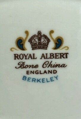 Royal Albert Berkeley Kaffeeservice 6x englisches Porzellan Bone China