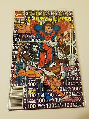 The New Mutants #100 1991 1St Appearance X-Force  Rob Liefeld Marvel